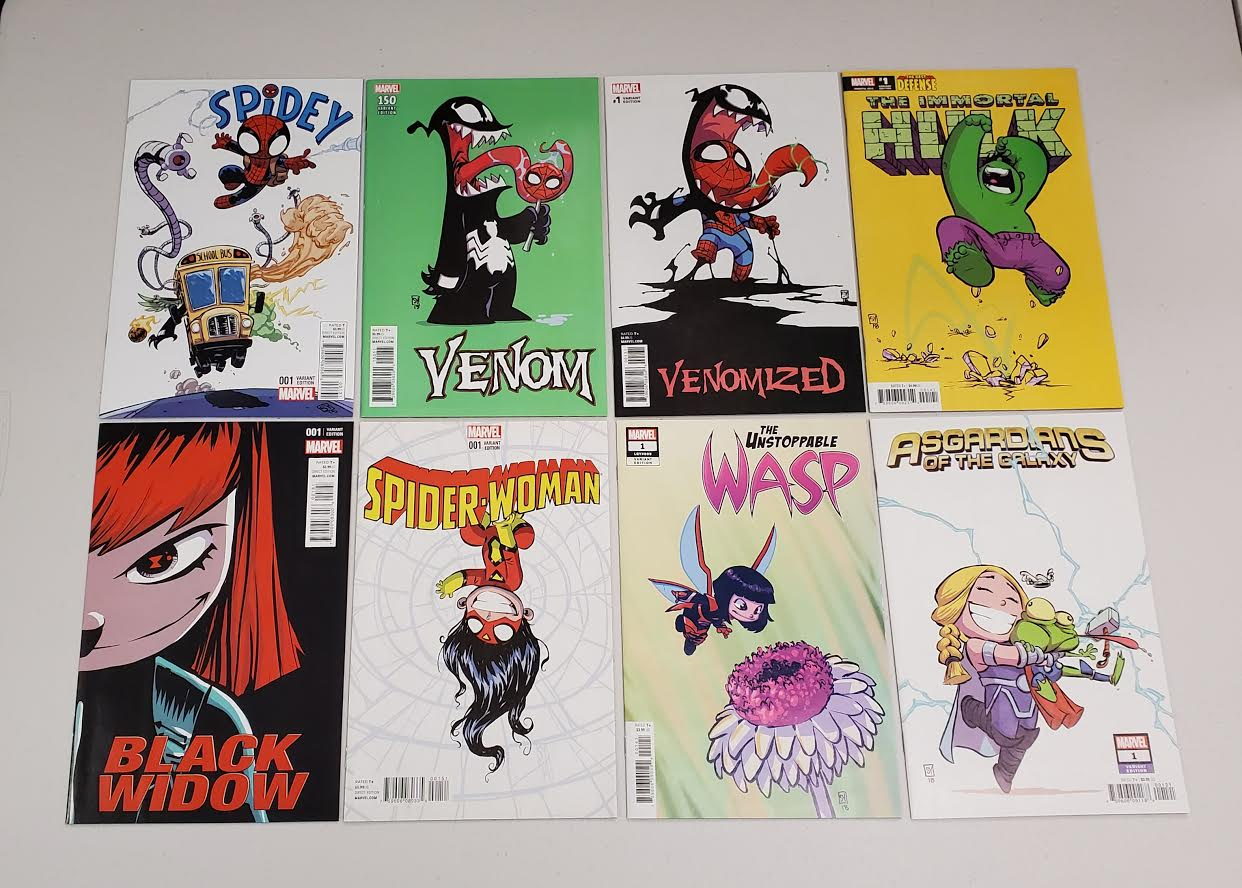 SKOTTIE YOUNG LOT 2