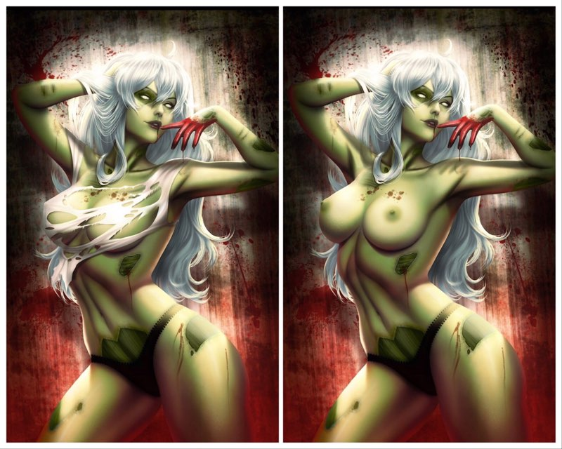 03/11/2020 ZOMBIE TRAMP #69 SSCO DIVINE IMMORTALITY VIRGIN VARIANT SET OF 2
