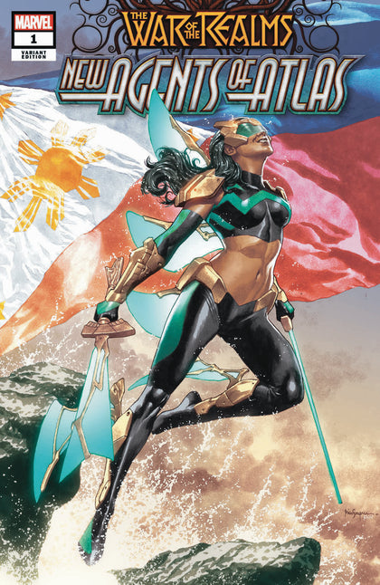 06/01/2019 WAR OF REALMS NEW AGENTS OF ATLAS #1 MICO SUAYAN & RAIN BEREDO TRADE DRESS VARIANT PHILIPPINES