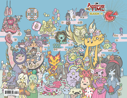 2018 ADVENTURE TIME SEASON 11 #1 SSCO Exclusive Junko Mizuno Wraparound Variant