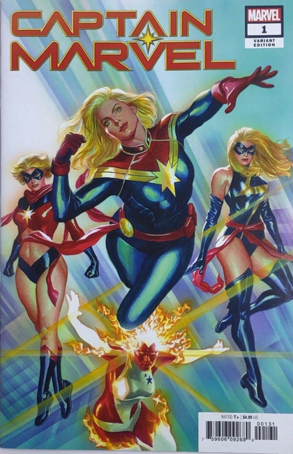 01/09/2019 CAPTAIN MARVEL #1 ALEX ROSS 1:50 VARIANT