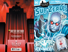 09/02/2020 BATMAN THE ADVENTURES CONTINUE #4 SSCO Sub-Zeros Mr Freeze Cereal Box DAVID NAKAYAMA VARIANT