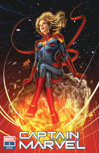 01/09/2019 CAPTAIN MARVEL #1 SSCO STORE EXCLUSIVE DAVID NAKAYAMA TRADE DRESS VARIANT