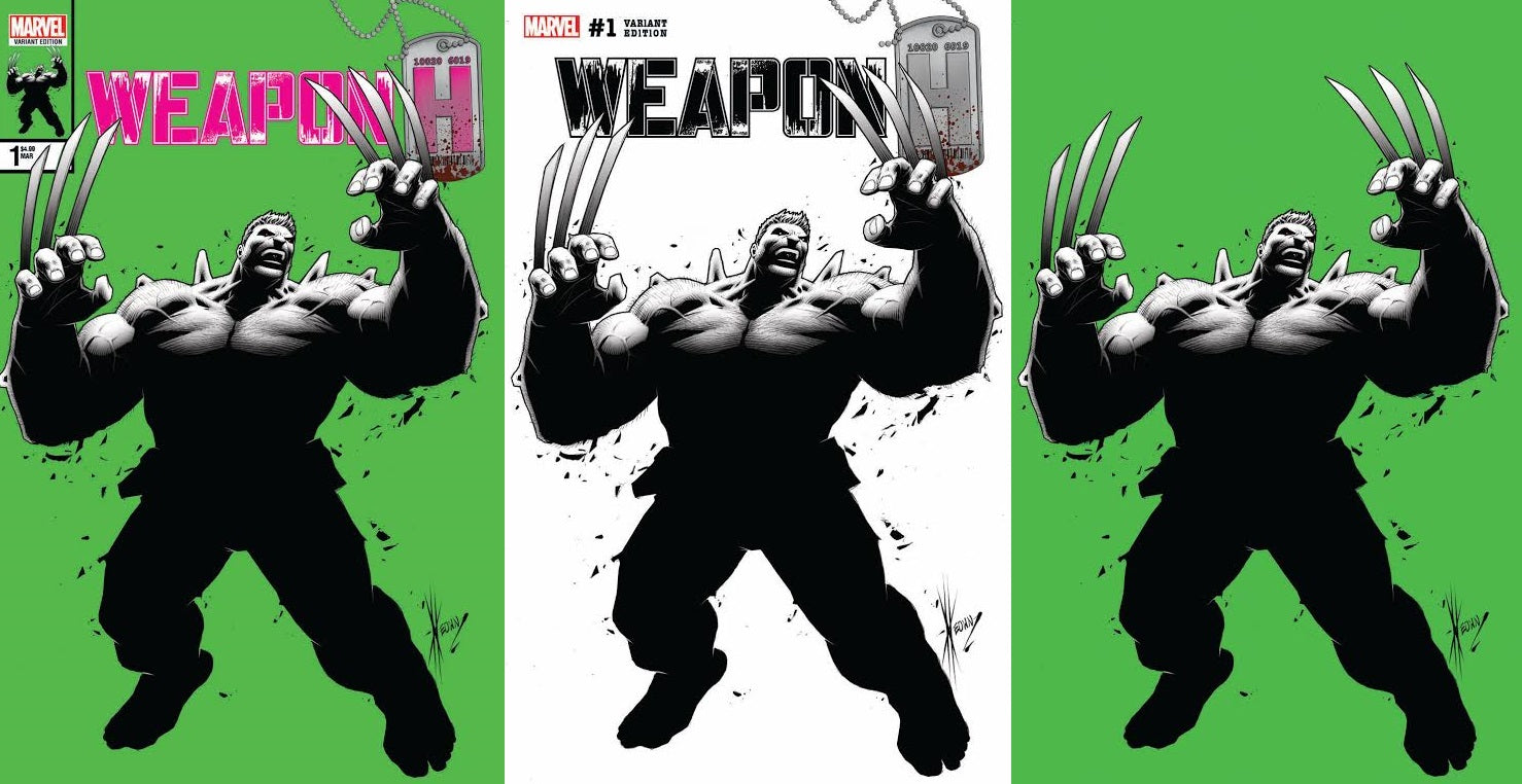 03/21/2018 WEAPON H #1 SSCO STORE EXCLUSIVE DALE KEOWN VARIANT SET OF 3