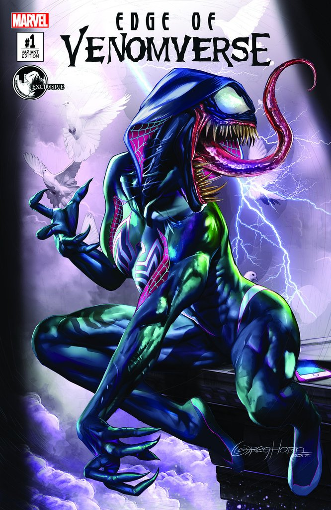 EDGE OF VENOMVERSE #1 GREG HORN VARIANT 2017