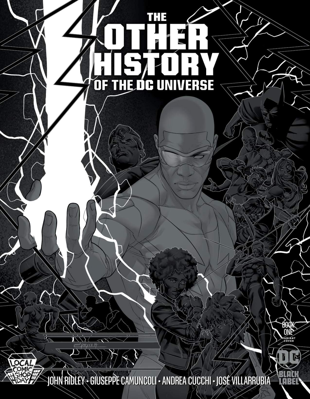 11/24/2020 OTHER HISTORY OF THE DC UNIVERSE #1 (OF 5) METALLIC LCSD VARIANT