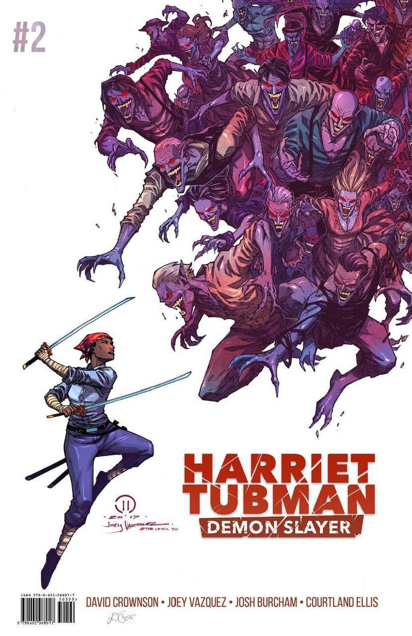 HARRIET TUBMAN DEMON SLAYER #2