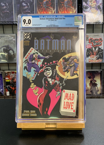 9.0 CGC Batman Adventures Mad Love 1994
