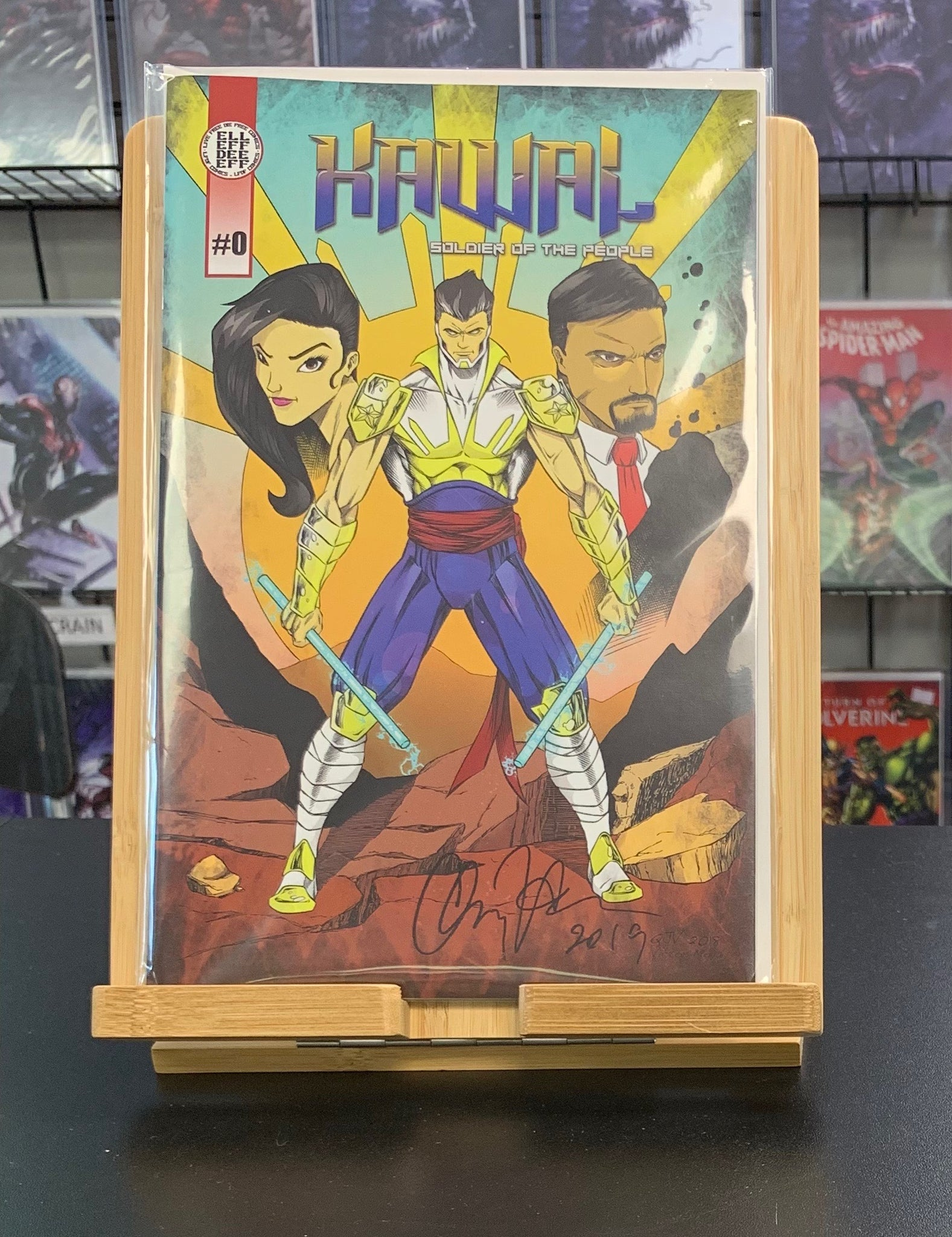 Kawal #0 Signed by Quincy Victoria