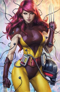 WEAPONS OF MUTANT DESTRUCTION #1 Virgin Artgerm Unknown Comic Books Exclusive Variant 2017