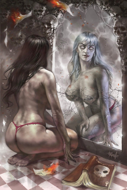2019 ZOMBIE TRAMP ONGOING #57 SSCO LUCIO PARRILLO VIRGIN VARIANT (NOT NEAR MINT)