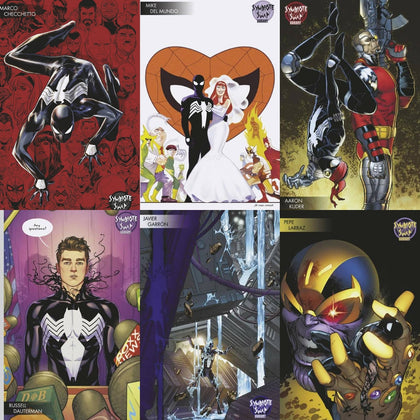 12/11/2019 SYMBIOTE SPIDER-MAN ALIEN REALITY #1 (OF 5) YOUNG GUNS HOMAGE VARIANT SET