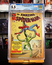 5.5 CGC Amazing Spider-Man #20 1965 (1st App Scorpion)