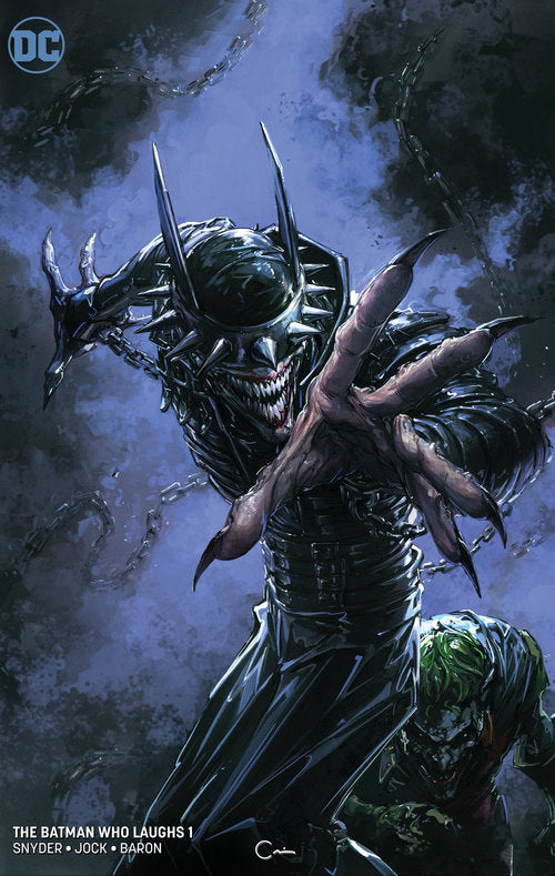 BATMAN WHO LAUGHS #1 (OF 6) CRAIN MIN VARIANT 2018