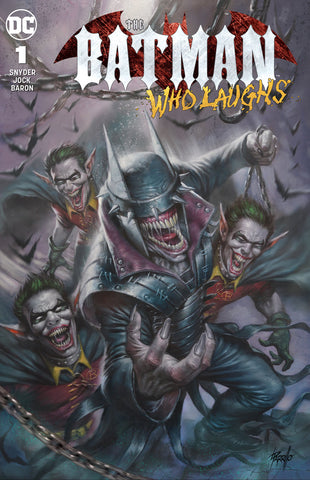BATMAN WHO LAUGHS #1 (OF 6) Scorpion Comics Parrillo Variant 2018