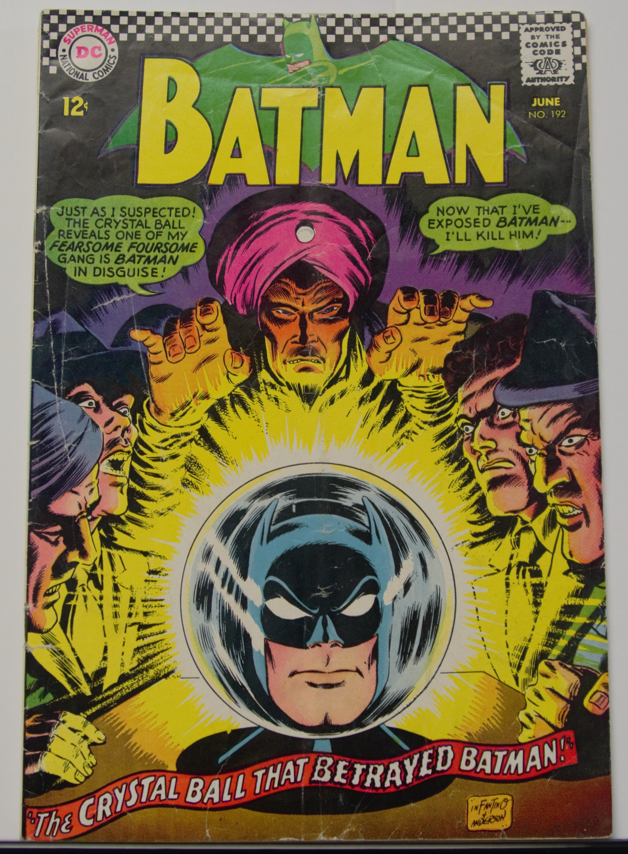 A01 Batman #192 - 01/26/2020 TEST DO NOT BID