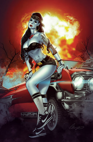 5/2018 SAD GIRL PSYCHO BABY #1 SANCTUM SANCTORUM C&O STORE EXCLUSIVE ELIAS CHATZOUDIS VIRGIN VARIANT