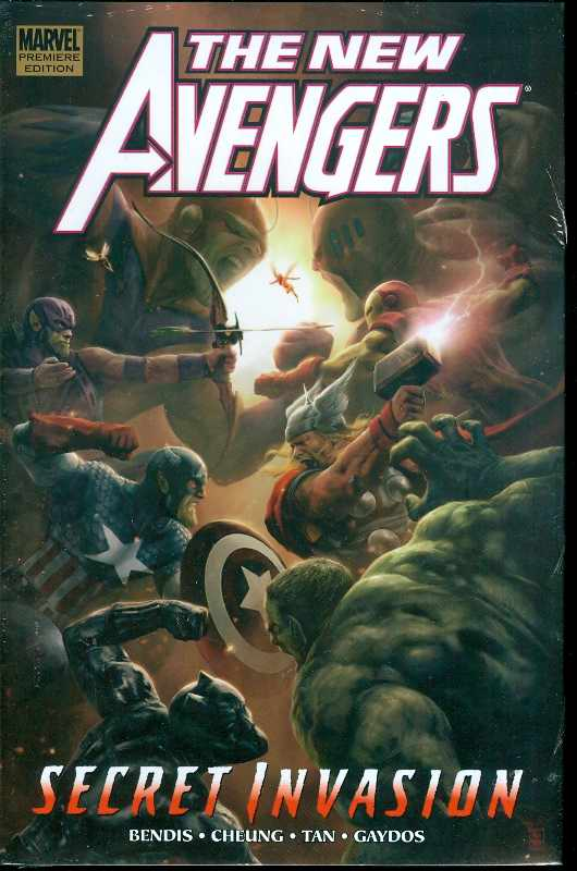 NEW AVENGERS HC VOL 09 SECRET INVASION BOOK 2