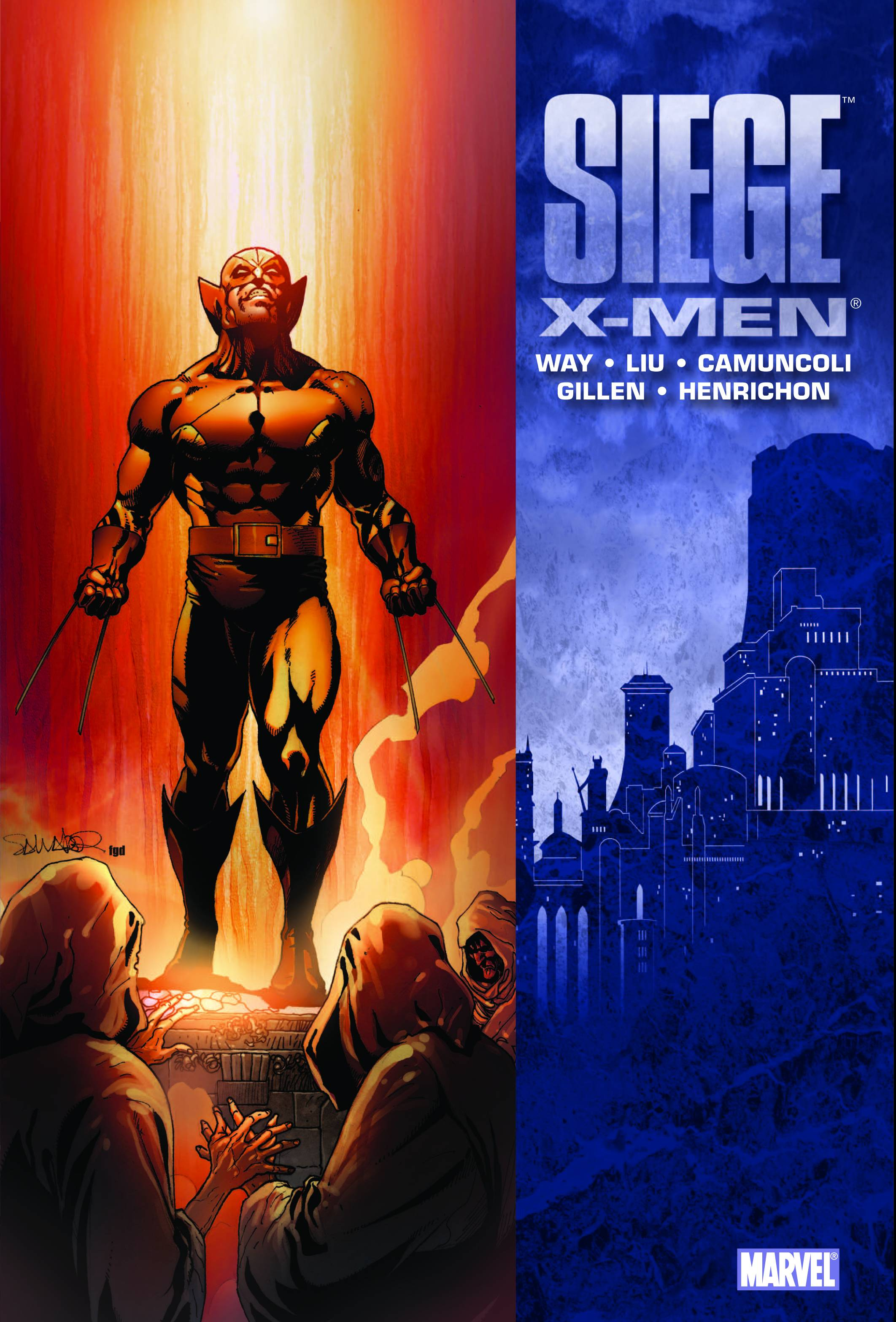 SIEGE X-MEN PREM HC 2010