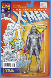 UNCANNY X-MEN #600 ICEMAN ACTION FIGURE B VARIANT 2015
