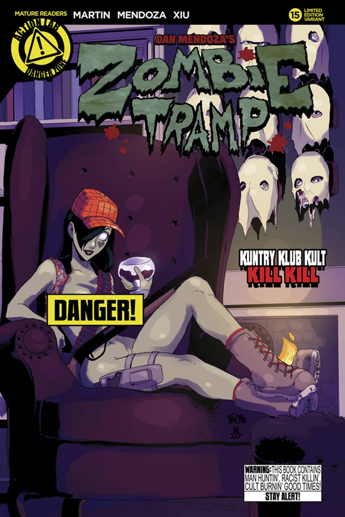 ZOMBIE TRAMP ONGOING #15 RISQUE VARIANT (MR) 2015
