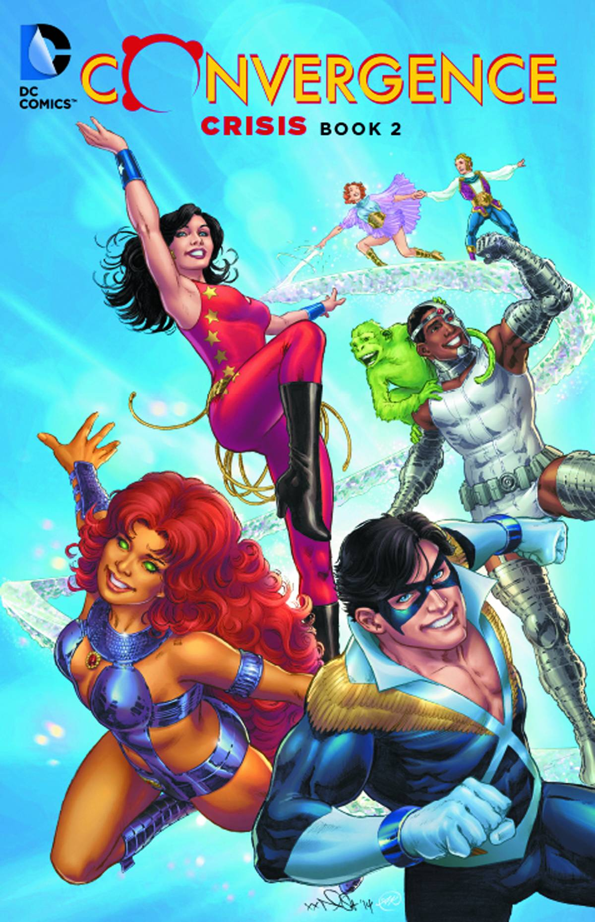 CONVERGENCE CRISIS TP BOOK 02 2015