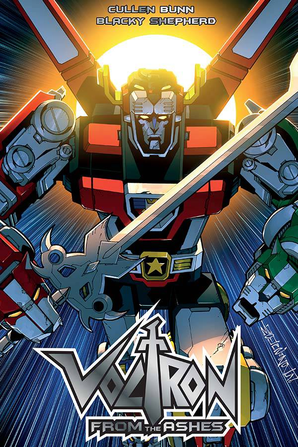 VOLTRON FROM THE ASHES TP 2016