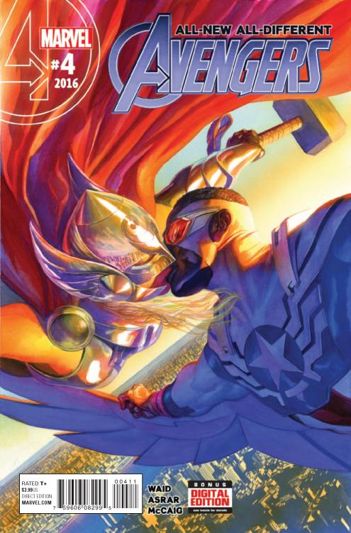 01/27/2016 ALL NEW ALL DIFFERENT AVENGERS #4 ALEX ROSS