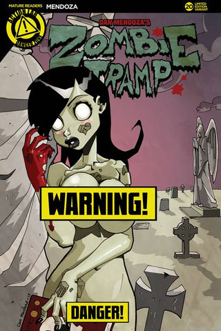 ZOMBIE TRAMP ONGOING #20 CVR B MENDOZA RISQUE (MR) 2016