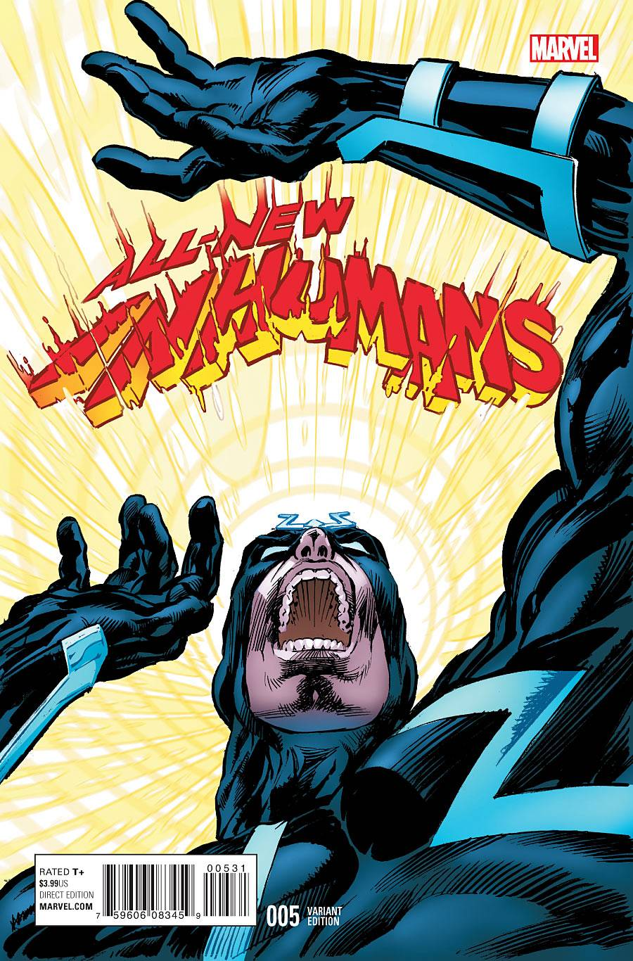03/16/2016 ALL NEW INHUMANS #5 NEAL ADAMS CLASSIC 1:15 VARIANT