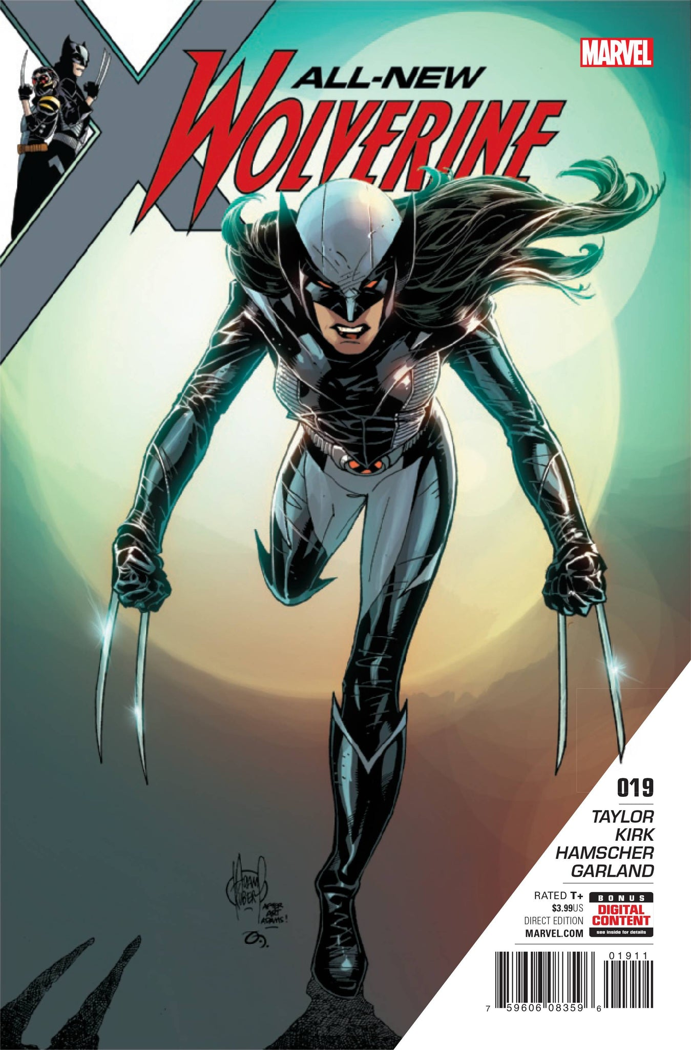 ALL NEW WOLVERINE #19 2017