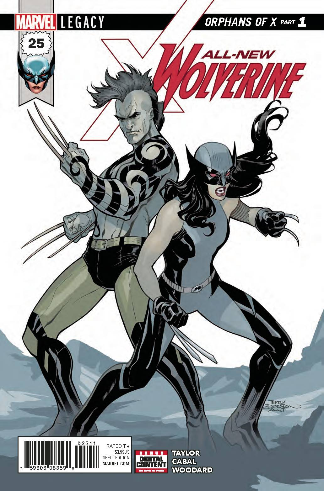 10/11/2017  ALL NEW WOLVERINE #25