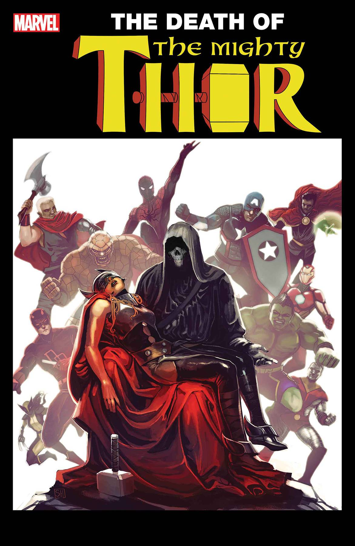 MIGHTY THOR #700 Hans Lenticular Variant 2017