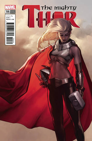 03/21/2018 MIGHTY THOR #705 JEE HYUNG LEE 1:50 Variant