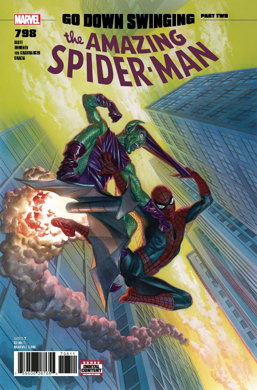 04/04/2018 AMAZING SPIDER-MAN #798 ALEX ROSS (1ST RED GOBLIN)