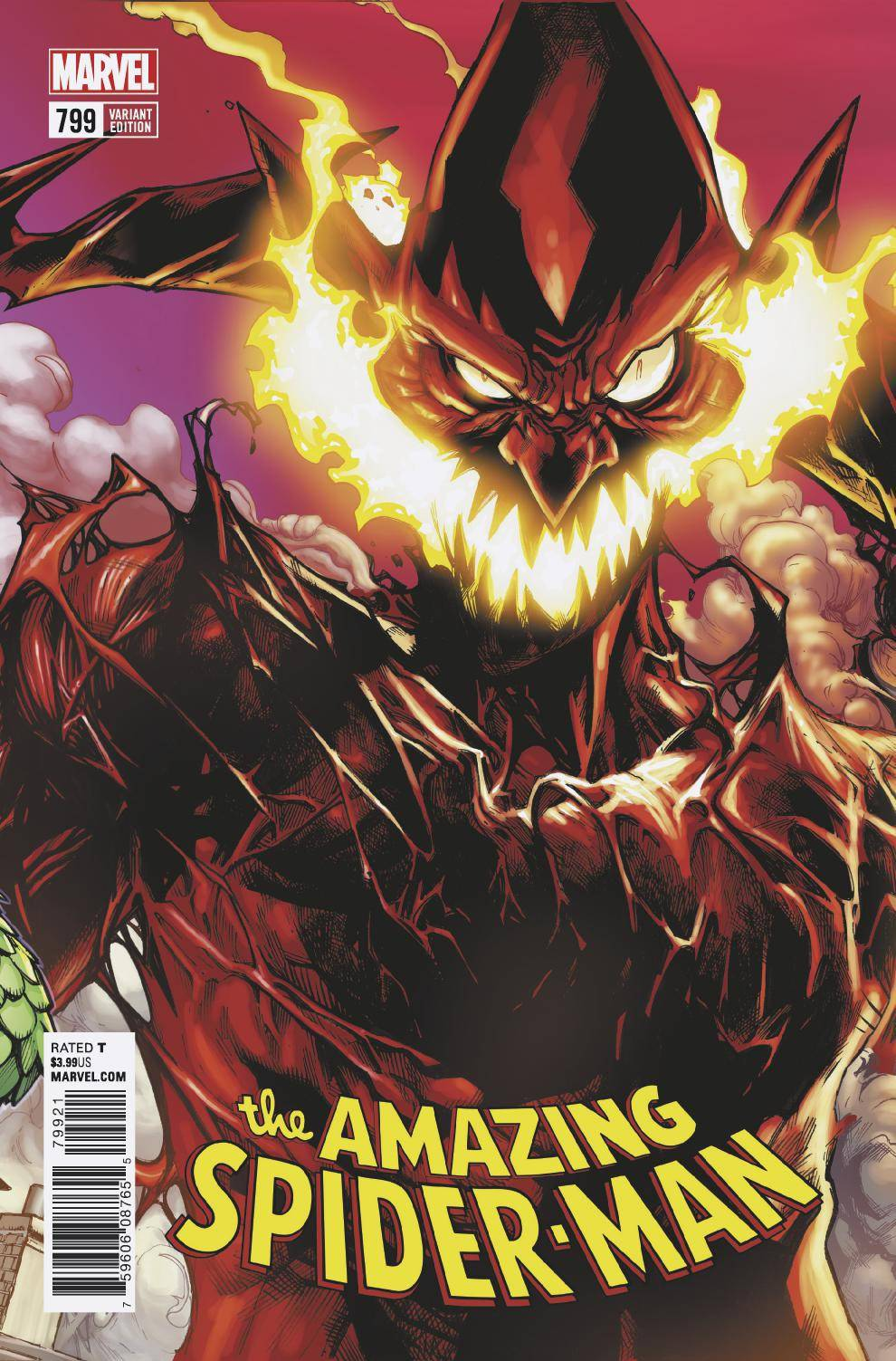 04/18/2018 AMAZING SPIDER-MAN #799 RAMOS CONNECTING VARIANT