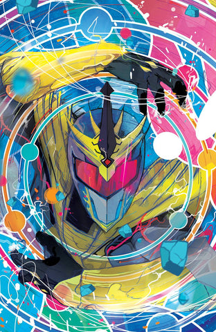 08/29/2018 MMPR SHATTERED GRID #1 1:25 Ward VARIANT (Mighty Morphin Power Rangers)