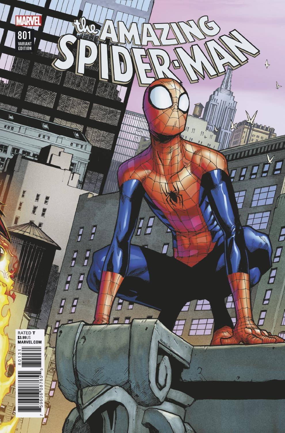 06/20/2018 AMAZING SPIDER-MAN #801 RAMOS CONNECTING VARIANT