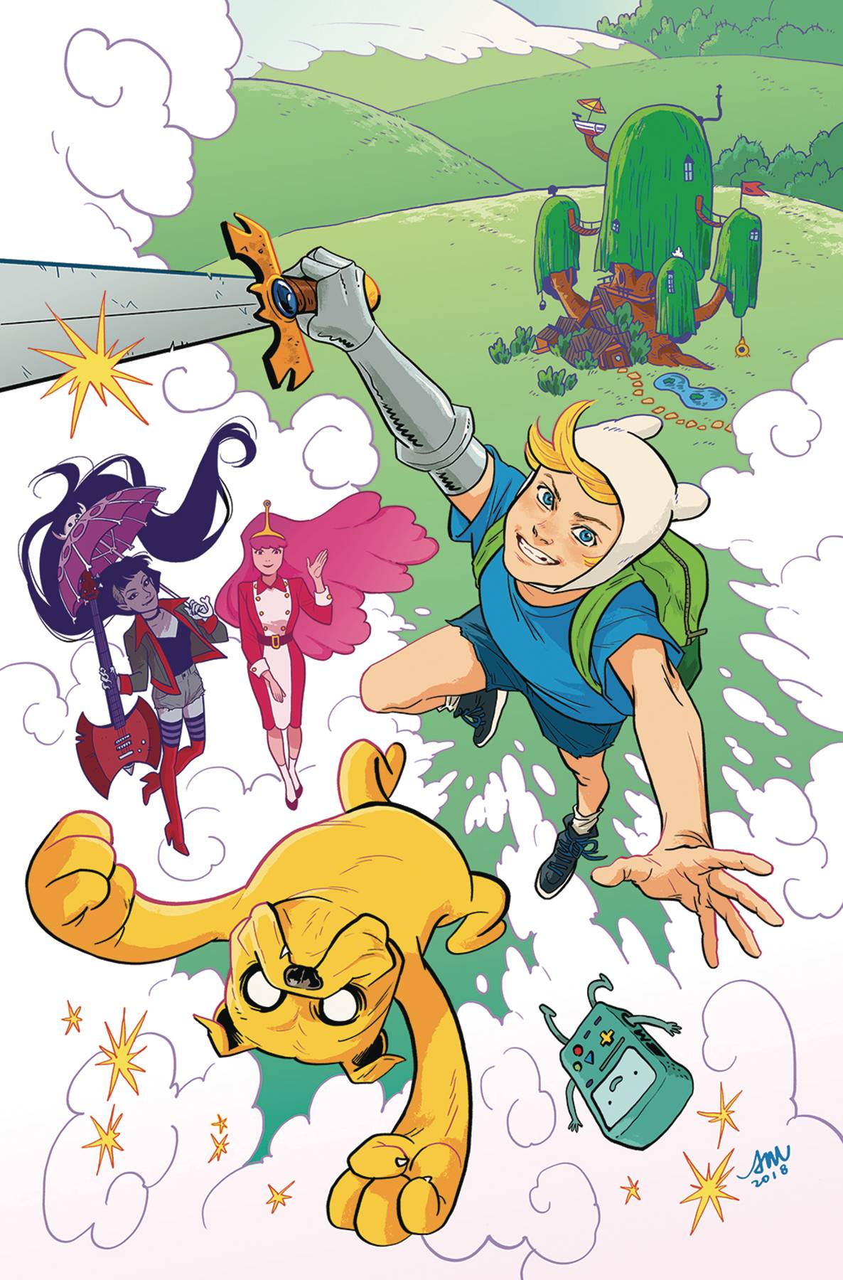 10/10/2018 ADVENTURE TIME SEASON 11 #1 1:15 VARIANT