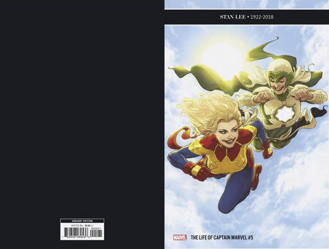 12/19/2018 LIFE OF CAPTAIN MARVEL #5 (OF 5) 1:25 Variant