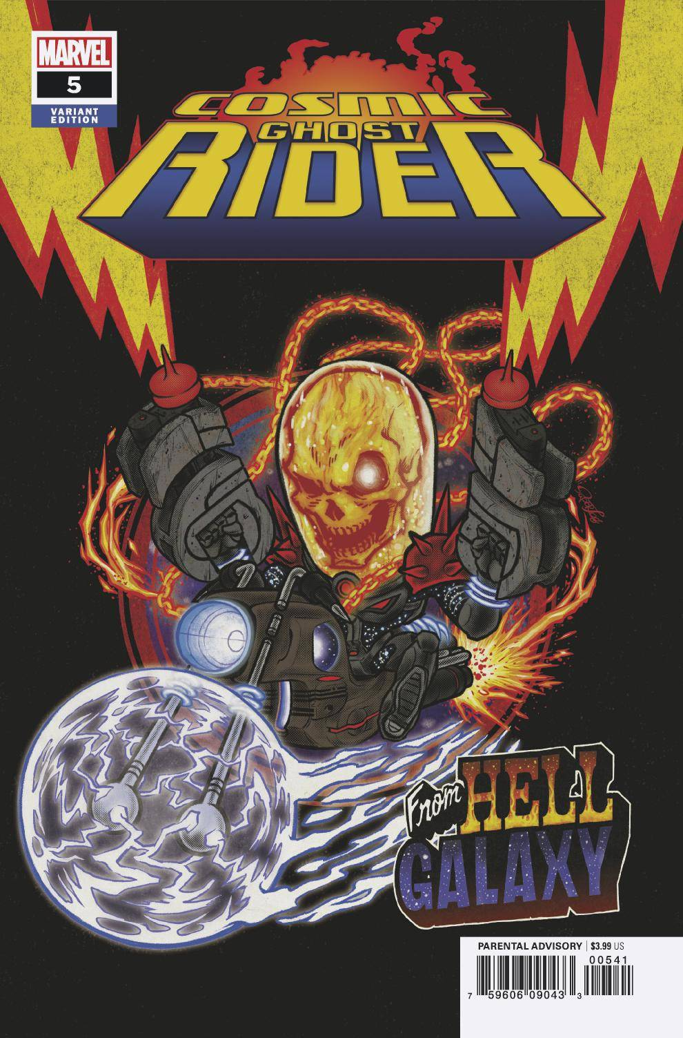 11/14/2018 COSMIC GHOST RIDER #5 (OF 5) SUPERLOG VAR