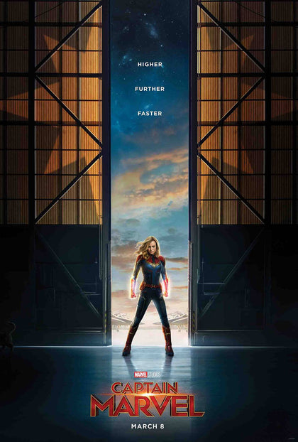 01/09/2019 CAPTAIN MARVEL #1 Movie 1:10 Variant