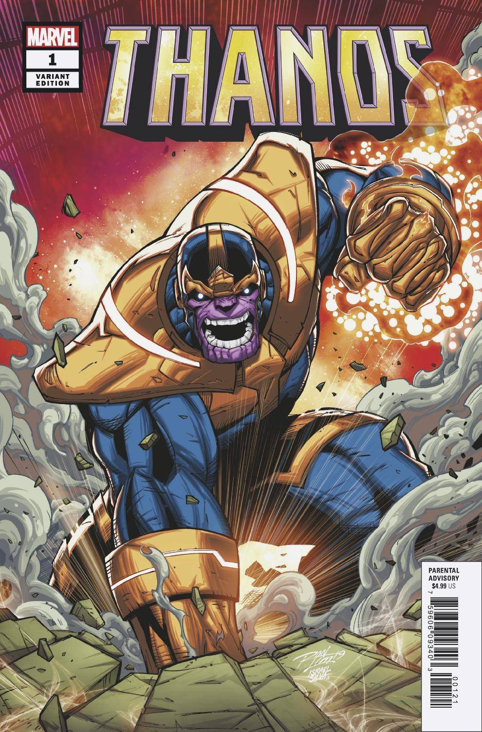 04/24/2019 THANOS #1 (OF 6) LIM VAR
