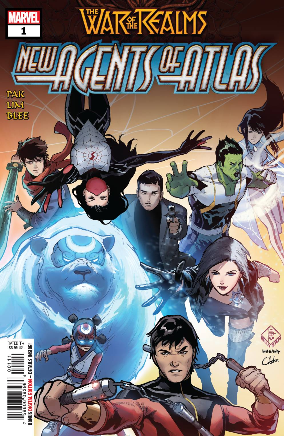 05/08/2019 WAR OF REALMS NEW AGENTS OF ATLAS #1 (OF 4)