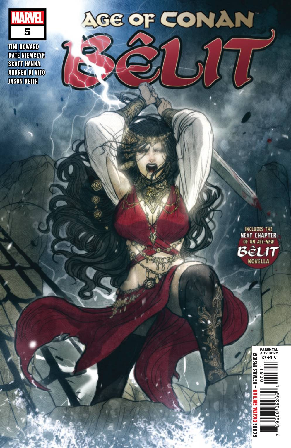 07/24/2019 AGE OF CONAN BELIT #5 (OF 5)