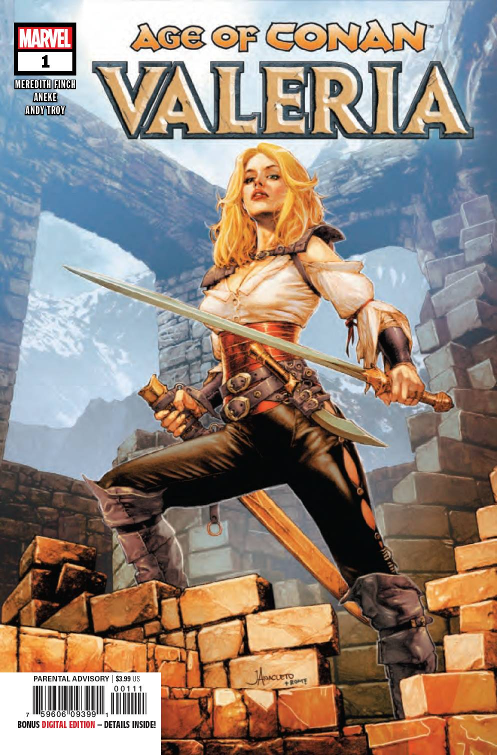 08/14/2019 AGE OF CONAN VALERIA #1 (OF 5)