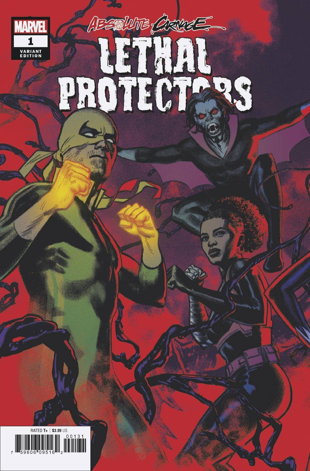 08/28/2019 ABSOLUTE CARNAGE LETHAL PROTECTORS #1 (OF 3) SMALLWOOD CONNE