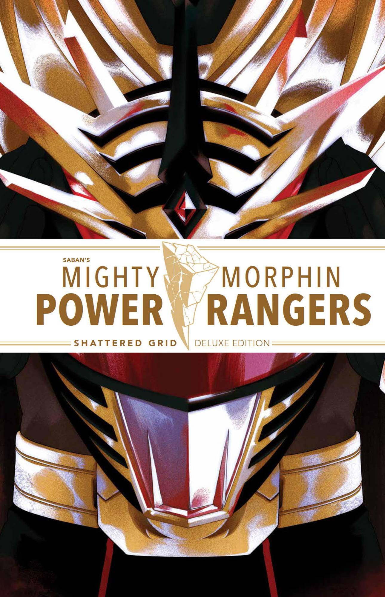 MIGHTY MORPHIN POWER RANGERS DLX HC SHATTERED GRID (BF)
