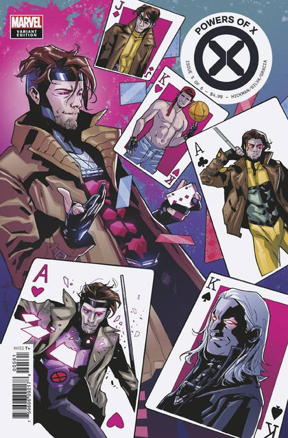 09/25/2019 POWERS OF X #5 (OF 6) CHARACTER DECADES VAR