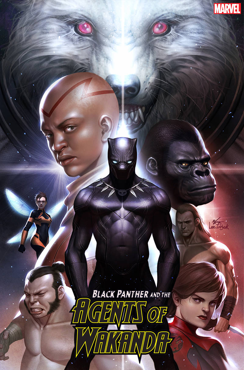 BLACK PANTHER AND AGENTS OF WAKANDA #1 INHYUK LEE 1:50 VARIANT